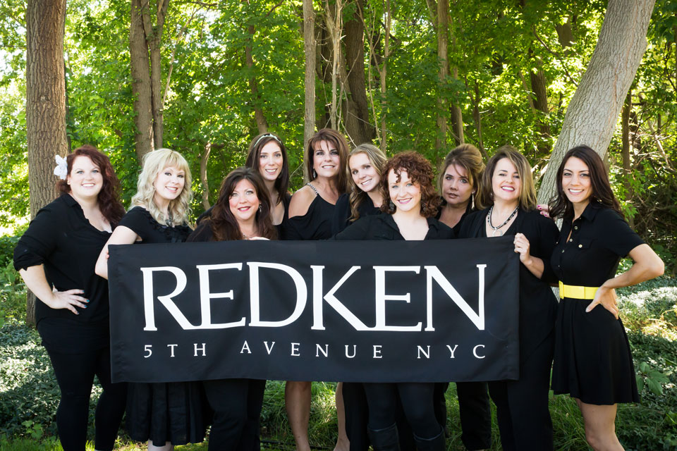 Amedae Salon Proudly uses Redkin Styling Products!